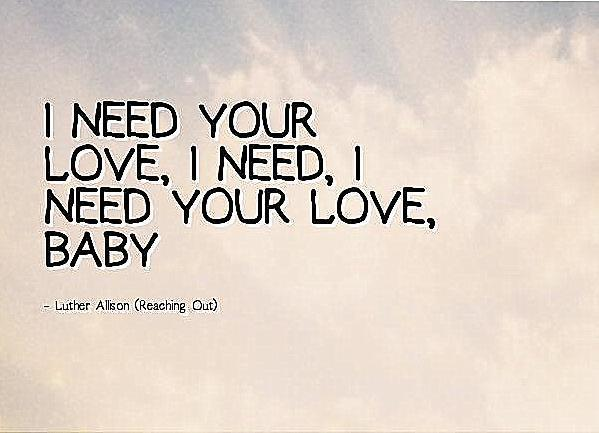 Partitura I Need Your Love