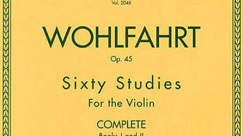 Wohlfahrt Violín (60 Estudios Op. 45) Vol.1