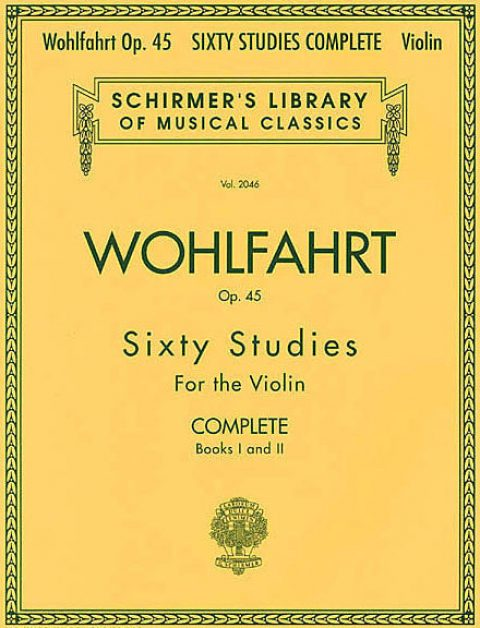 Wohlfahrt Violín (60 Estudios Op. 45) Vol.2