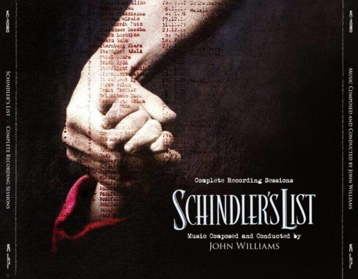 partitura Lista de Schindler