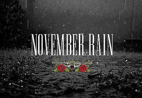 Partitura November Rain