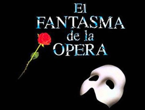 El Fantasma de La Opera – Piano y voz