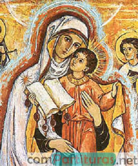 Ave María (Caccini) – Coro a 4 voces