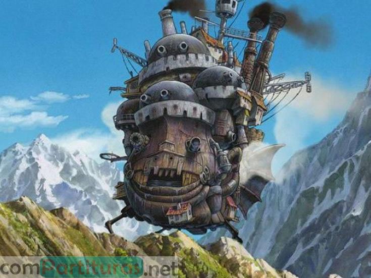 Partitura El Castillo Ambulante – Orquesta de Cuerdas