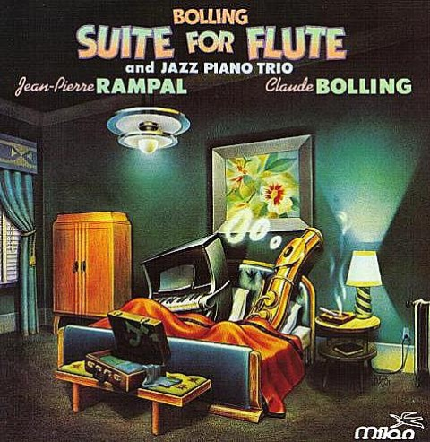 Suite for flute and jazz piano – Baroque and blue