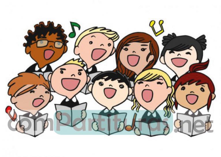 Salamanqueando Pa' Mi – Coro 4 voces