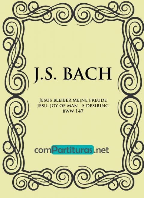 Partitura Coral 147 – Johann Sebastian Bach – Clarinete y Orquesta de Cámara