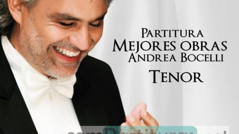 Partitura Mejores Obras Interpretadas Por Andrea Bocelli – Compartituras.