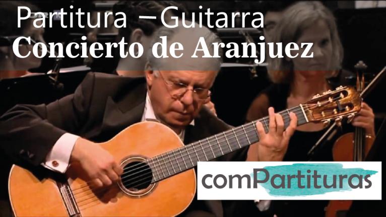 Partitura Concierto de Aranjuez – Joaquín Rodrigo – Guitarra