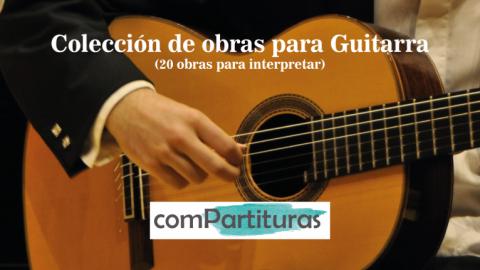 Colección de obras para Guitarra – Compartituras