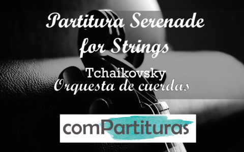 Partitura Serenade for Strings – Pyotr Ilyich Tchaikovsky – Orquesta de Cuerdas