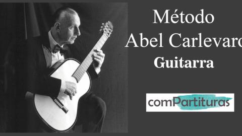 Método Abel Carlevaro – Guitarra – Compartituras