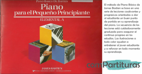 PIANO BÁSICO (MÉTODO PARA PRINCIPIANTES, ESPAÑOL), J. BASTIEN