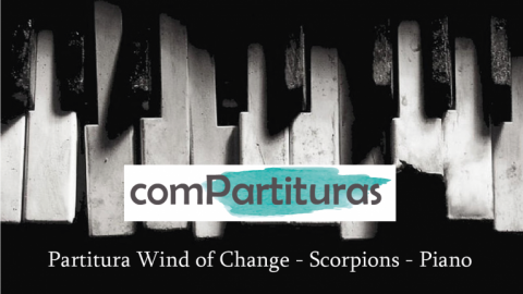 Partitura Wind of Change – Scorpions – Piano