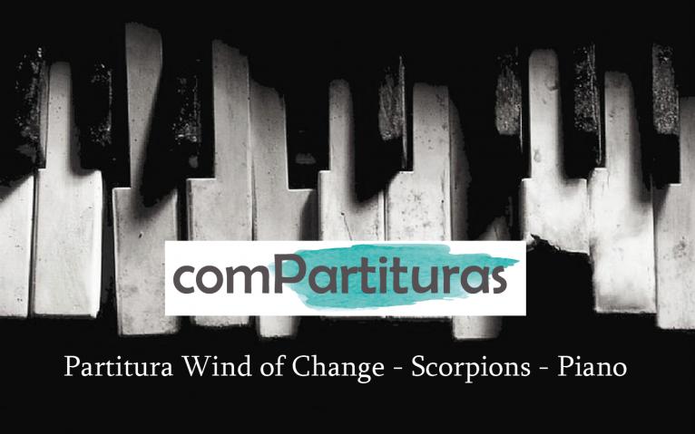 Partitura Wind of change