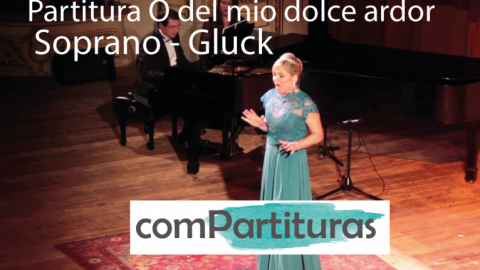 Partitura O del mio dolce ardor – Soprano – Gluck